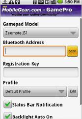 GamePro Settings